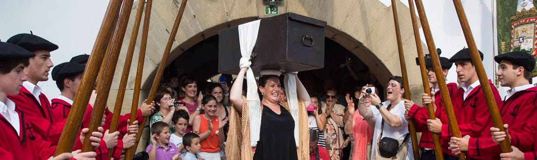 La Livraison de la Kutxa à Hondarribia-Fuenterrabía
