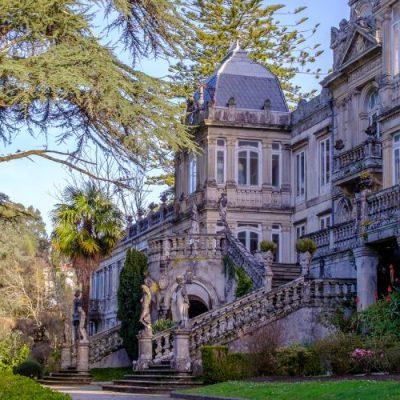 Pazo de Lourizán, un rêve romantique au milieu de la forêt