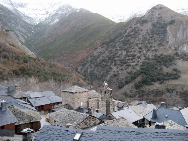 Peñalba de Santiago l'hiver