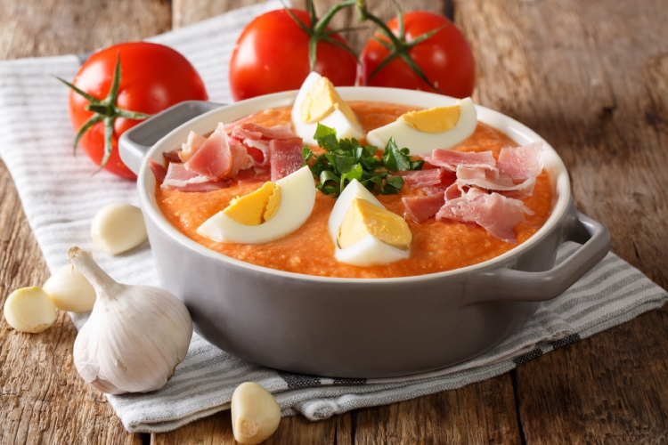 Porra antequerana, soupe froide traditionnelle d'Antequera