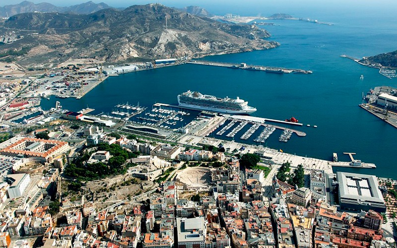 Panoramique de Carthagène