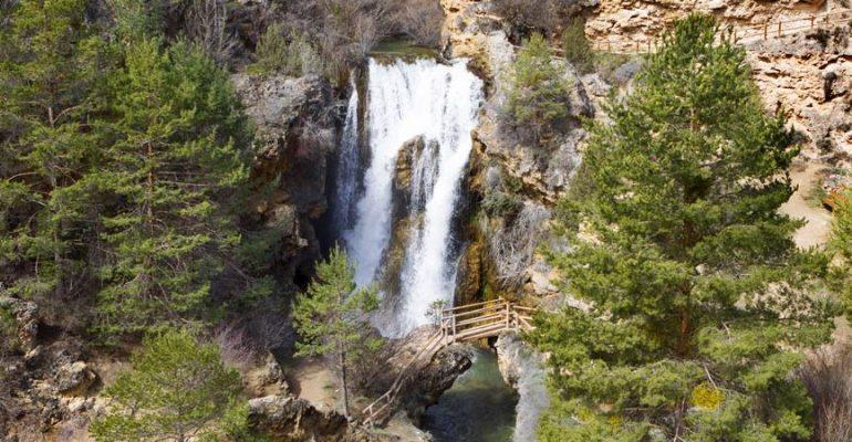 Cascade de Calomarde, la grande inconnue de la chaîne de montagnes d'Albarracín