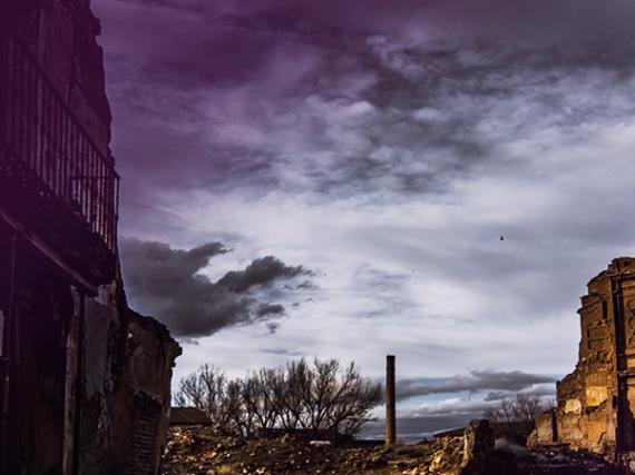 Des sites enchantés d'Espagne: le Vieux Village de Belchite