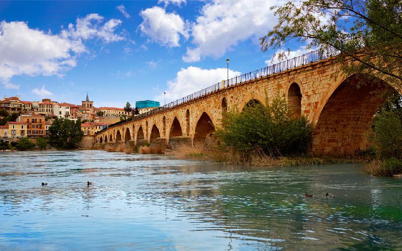 Pont de pierre à Zamora