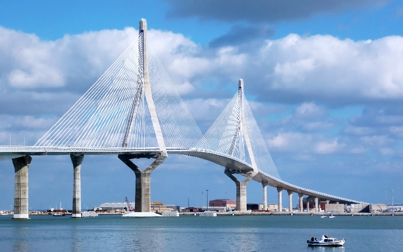 Pont de la Constitution de 1812 à Cadix