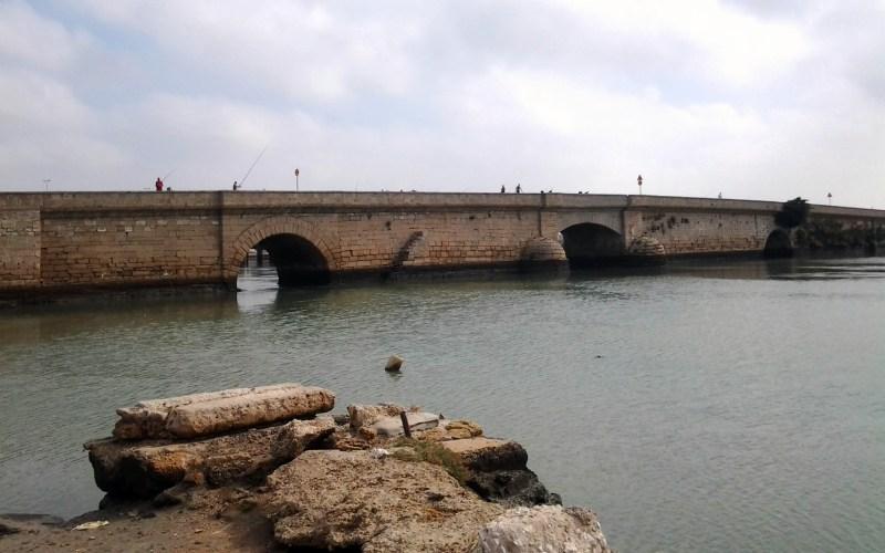 Pont Zuazo entre Puerto Real et San Fernando