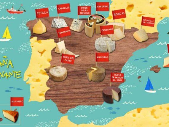 Fromages AOP d'Espagne