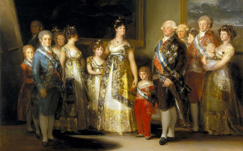 Portrait de la Famille de Charles IV