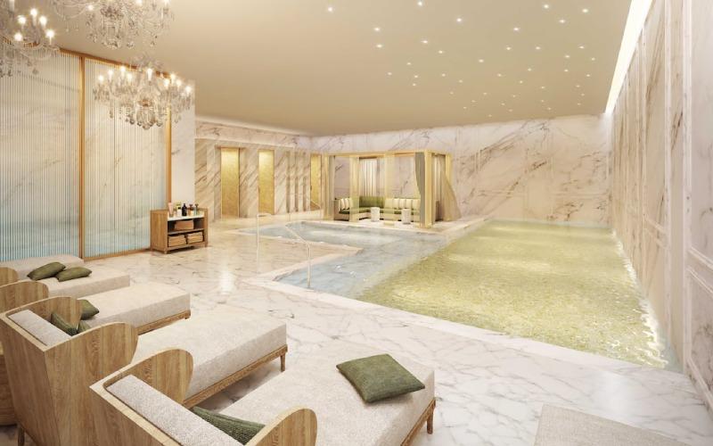 Intérieur de l'hôtel Ritz à Madrid