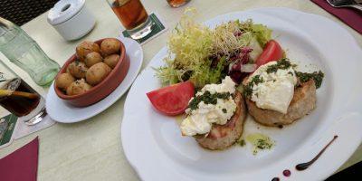 Comer Colonia Sant Jordi restaurante foganya