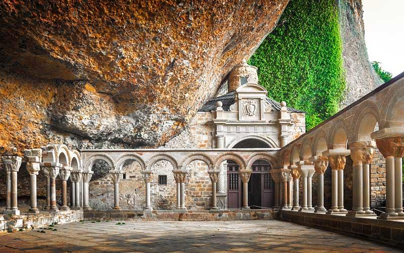 Monastère de San Juan de la Peña