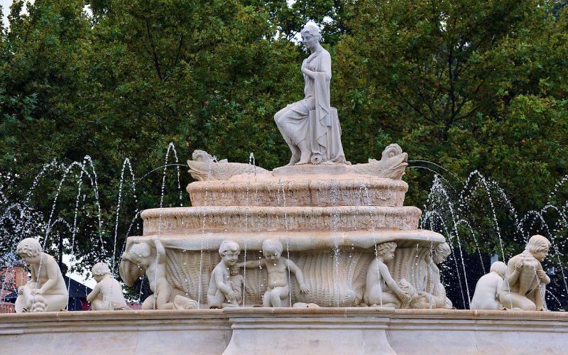 Fontaine de Hispalis à Séville