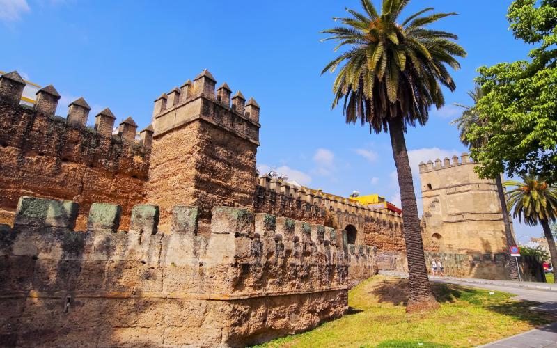Murailles romaines et almohades près de la Macarena