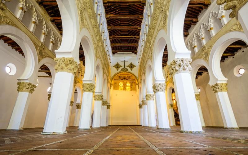 Synagogue Santa María La Blanca de Tolède