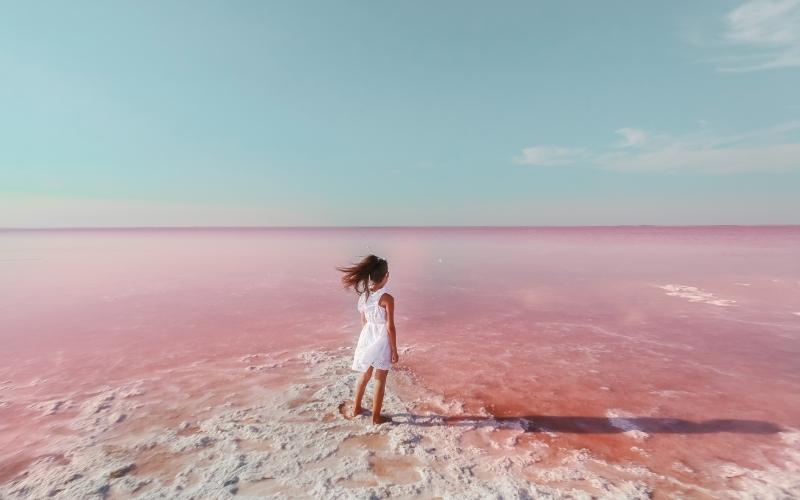 Une promenade autour de la lagune rose de Torrevieja