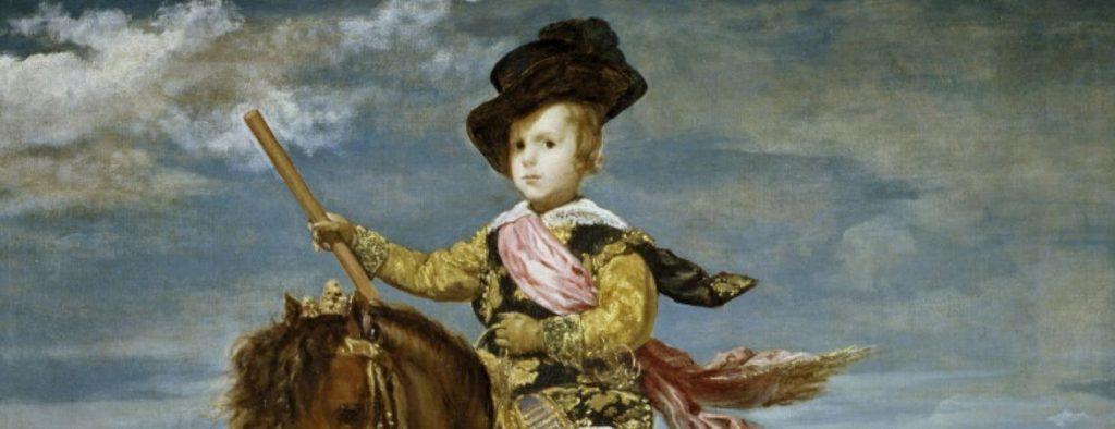 Le tableau de Velázquez Le Prince Baltasar Carlos à cheval
