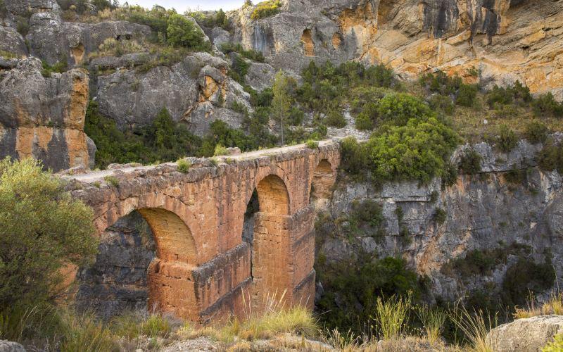 Aqueduc romain de la Peña Cortadada