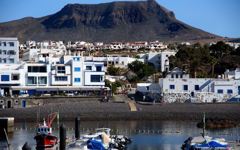 Agaete aux îles Canaries