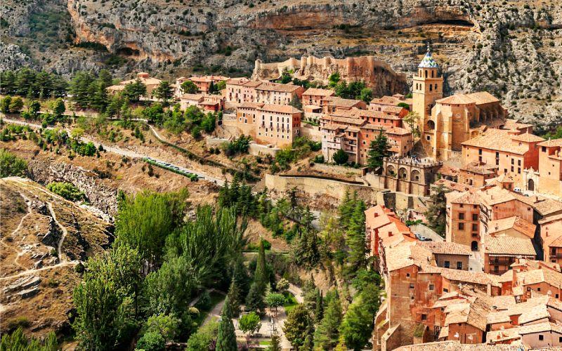 Visiter Albarracín, c'est comme remonter le temps jusqu'au Moyen Âge