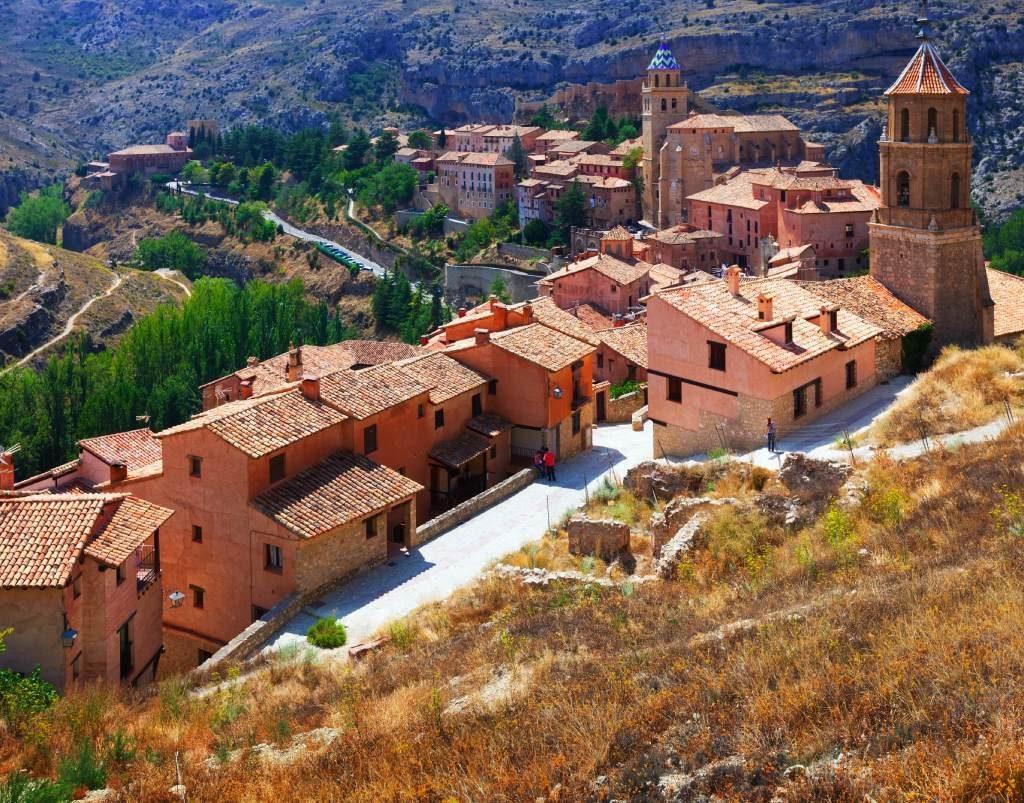 Albarracín depuis ses murailles