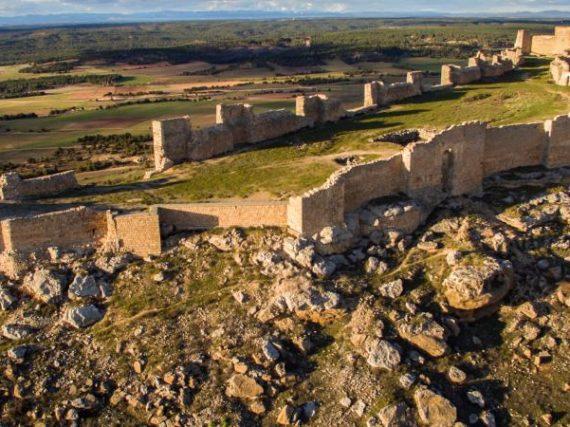 Le Château de Gormaz, la forteresse de Soria pour laquelle les royaumes chrétiens soupiraient