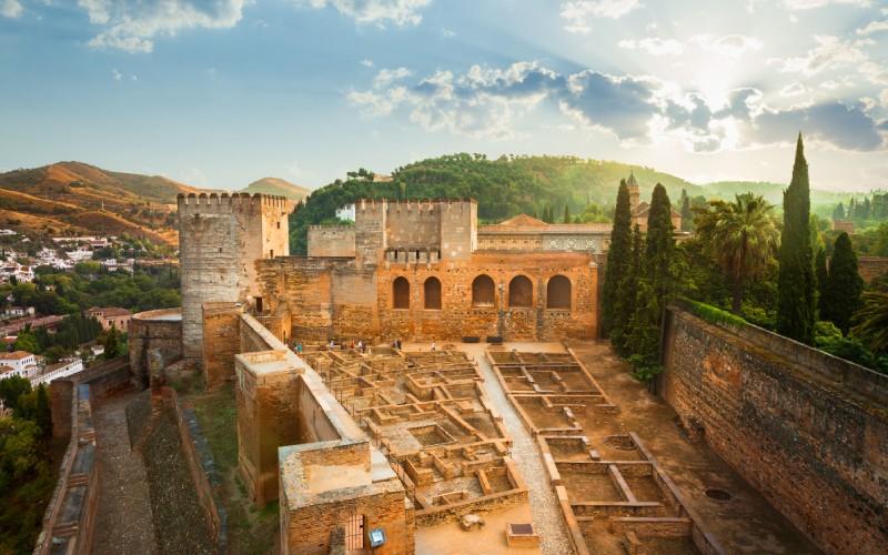 Alcazaba de Grenade