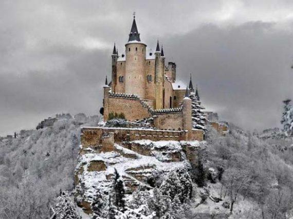 Top 5 châteaux espagnols de contes de fées