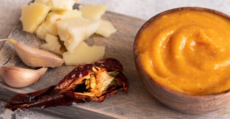 Recette d'almogrote, le pâté de fromage typique de l'île de La Gomera