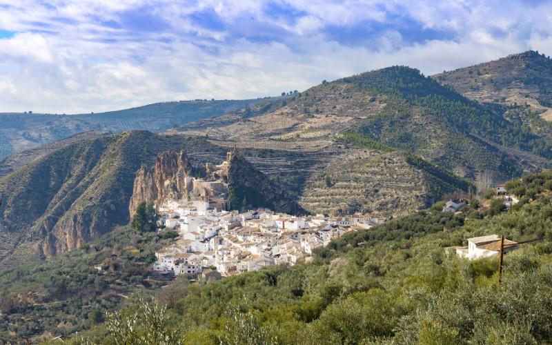 Vue panoramique de Castril