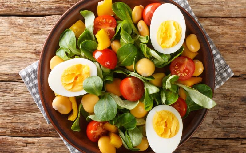Salade de lupin pour l'été