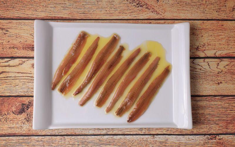 Plat d'anchois de Santoña