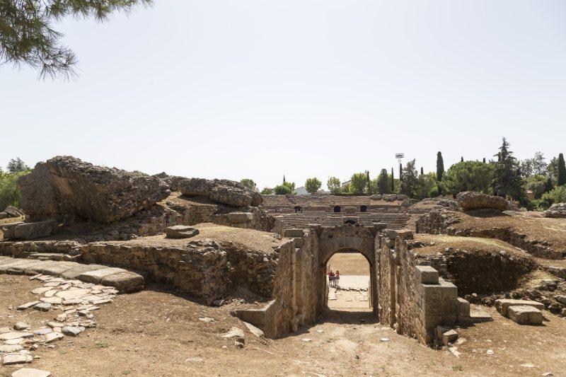 Amphithéâtre romain de Mérida