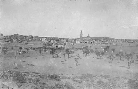 Vue ancienne du paysage de Granadilla