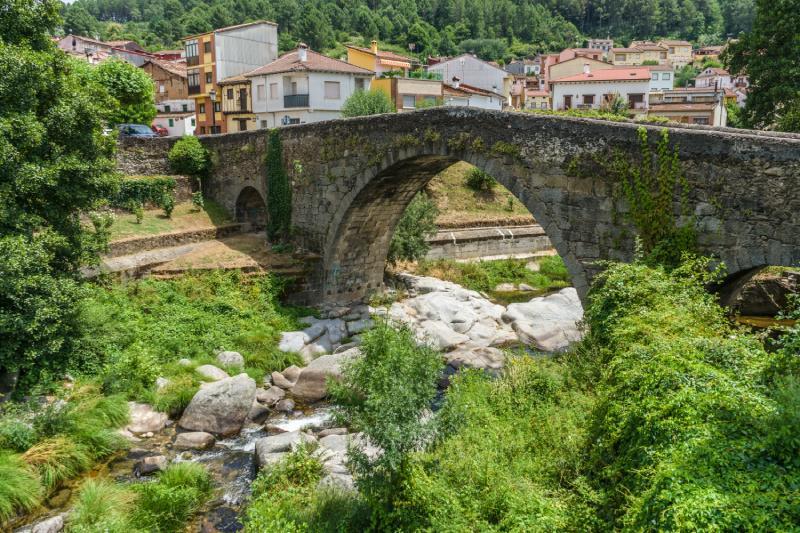 Le pont à Arenas de San Pedro