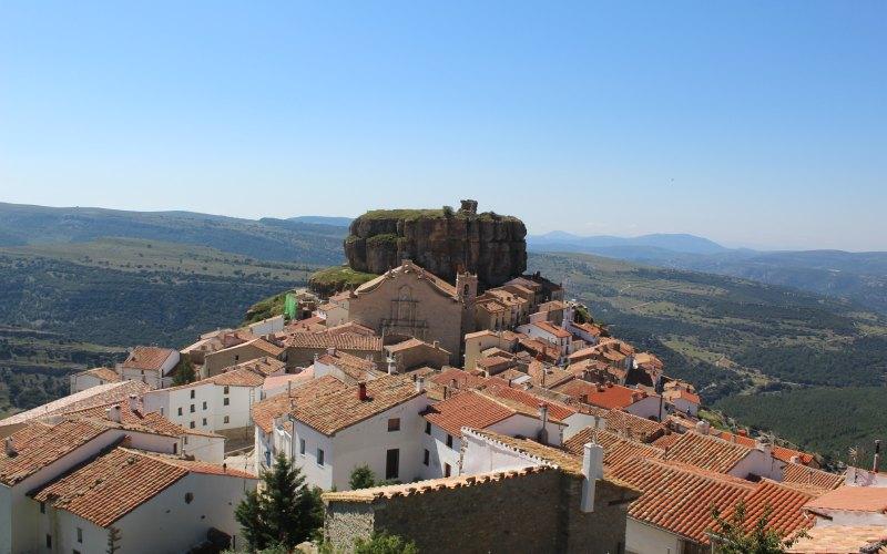 Panoramique d'Ares del Maestrat