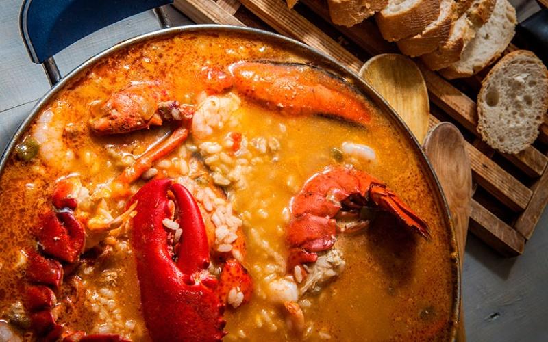 Riz au homard moelleux
