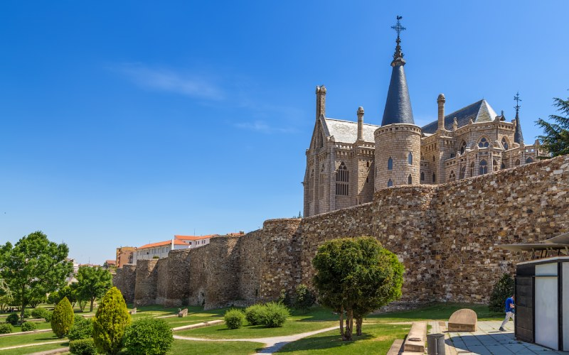 Astorga, final de la Route de l'Argent