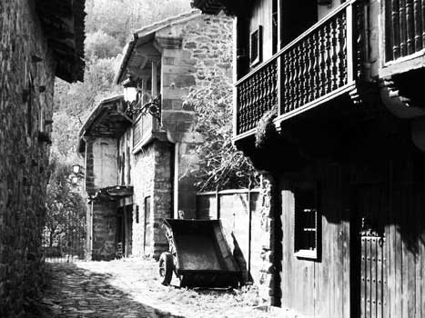foto antigua Calle de Bárcena Mayor