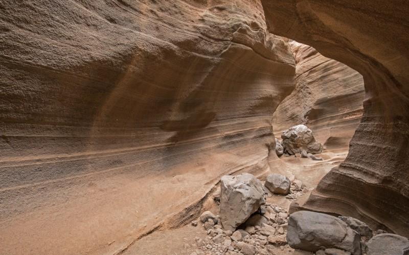 Ravin des Vaches, cousin-frère de l'Antelope Canyon de l'Arizona, aux États-Unis