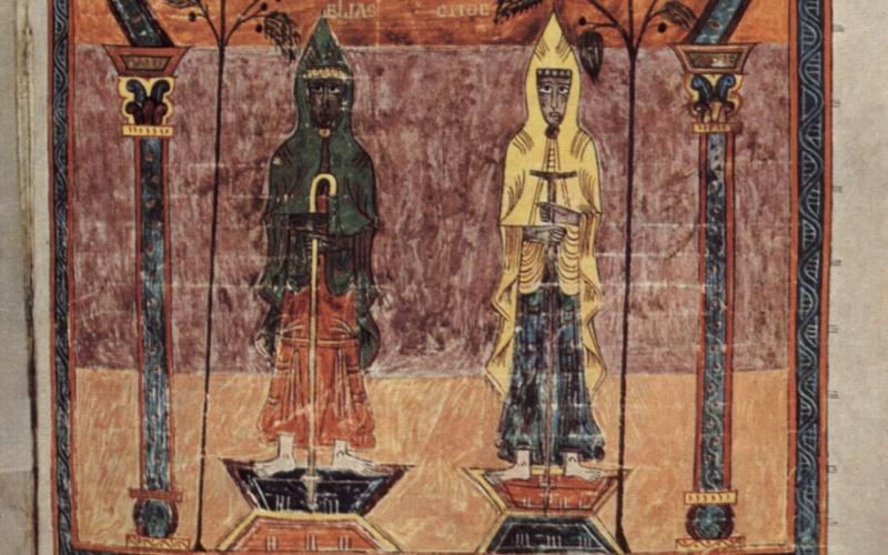 Une autre miniature de la Sainte Vierge de Gérone