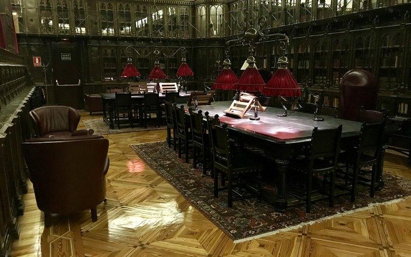 Bibliothèque du Casino de Madrid
