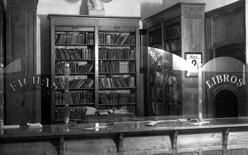 Bibliothèque de l'Ateneo-Casino Obrero de Gijón