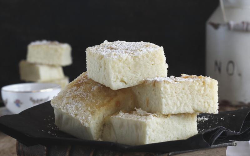 Bica blanca de Laza, un gâteau spongieux à la crème qui fond dans la bouche
