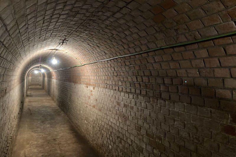 Tunnel du bunker