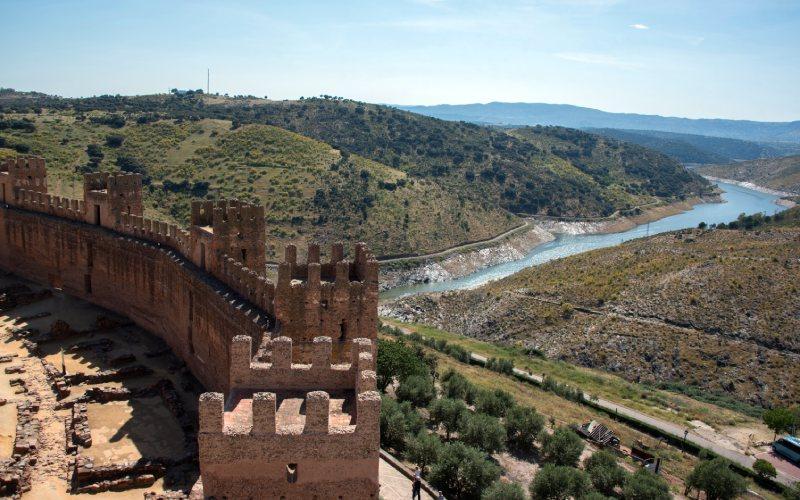 Place d'armes du château de Burgalimar