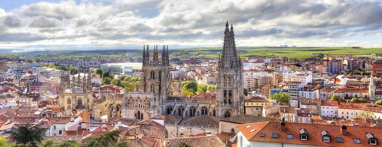 Panorámica que ver en Burgos capital