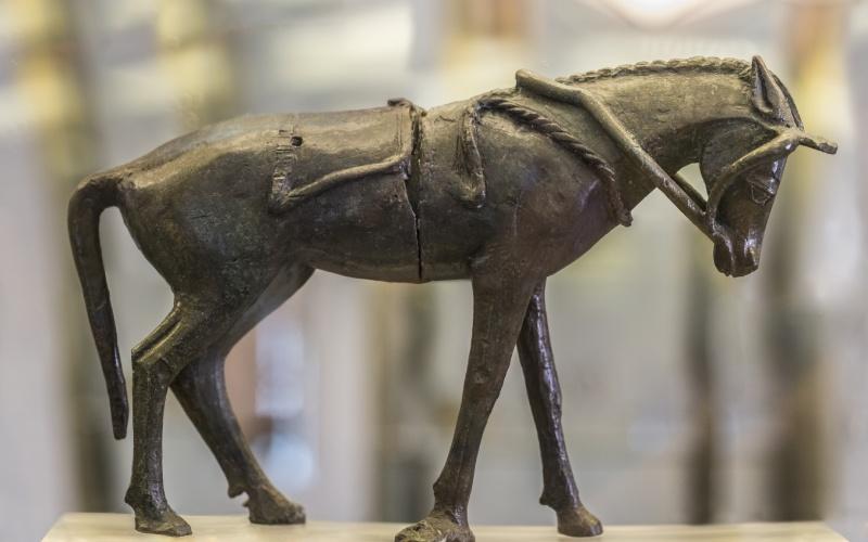 Figure d'un cheval du Palais Sanctuaire de Cancho Roano