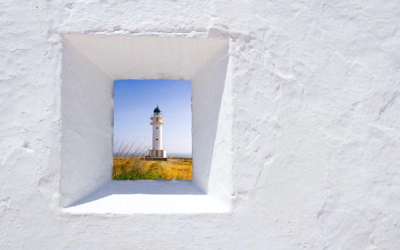 Le cap Barbaria est l'un des endroits les plus célèbres de l'île de Formentera