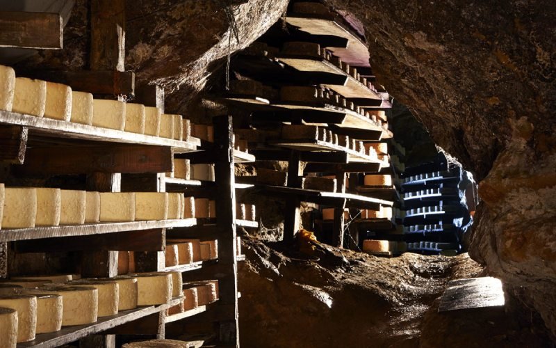 Grottes du fromage Cabrales