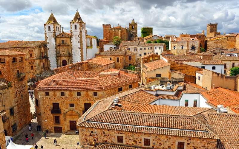 Cáceres, ville d'origine romaine sur la Route de l'Argent
